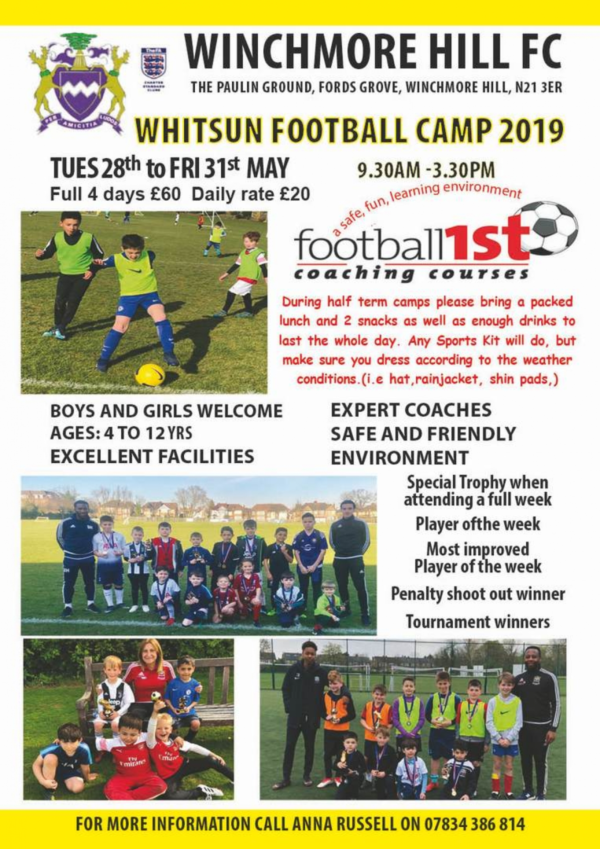 Whitsun 2019 Football Camps