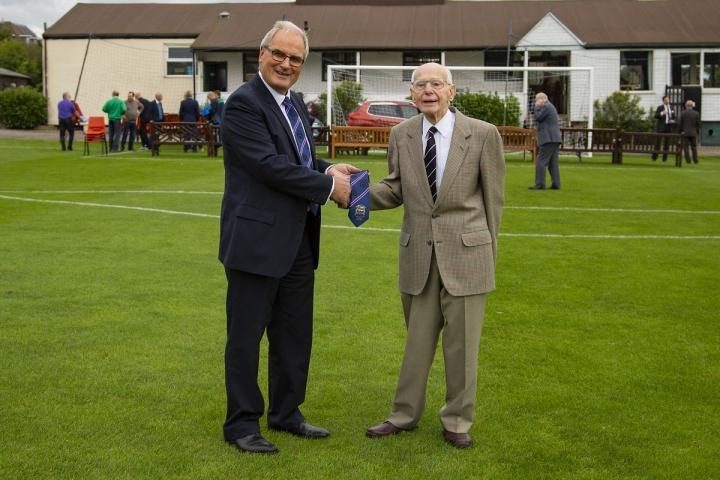 WHFC Centenary Ties
