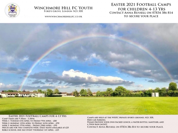 Easter 2021 Childrens Football Camp