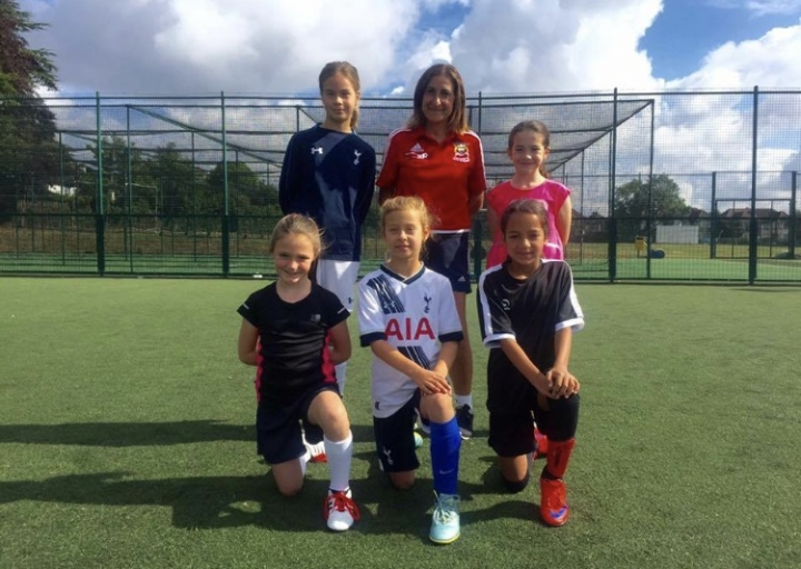 Girls Youth Football
