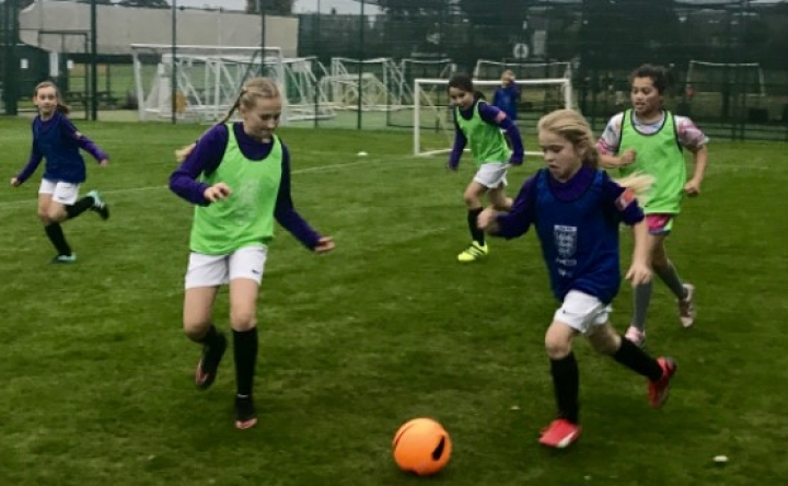 Girls Youth Football