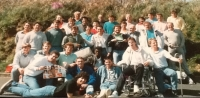 Easter tour to Jersey, mid 1980s.